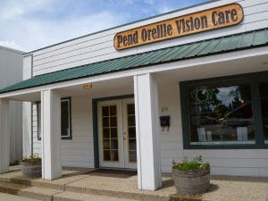Pend Oreille Vision Care store front