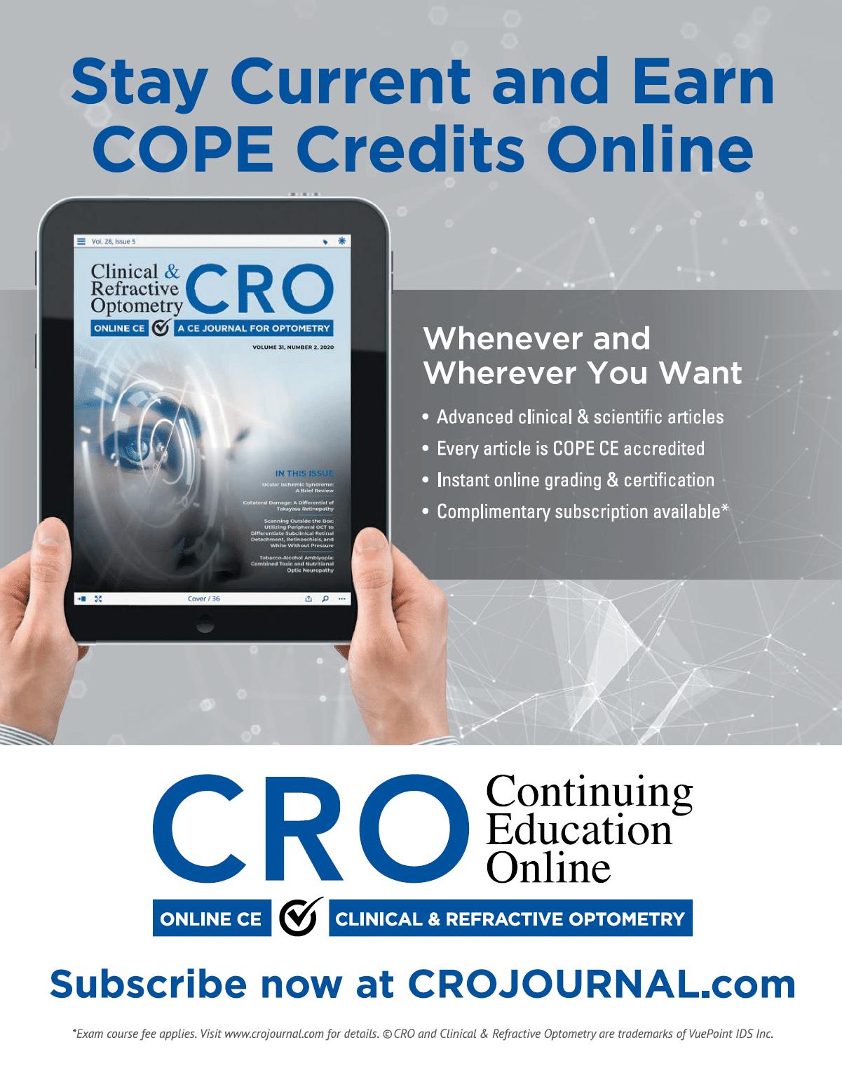 Access COPE CE Courses