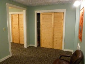 Pend Oreille Vision Care trials and storage closets