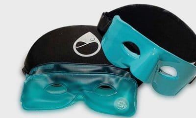 Tearrestore, wearable and reusable open eye warm compress