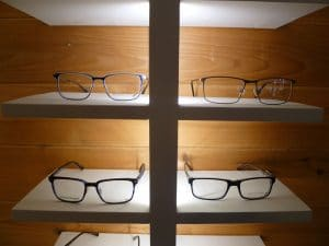 Pend Oreille Vision Care new frame displays