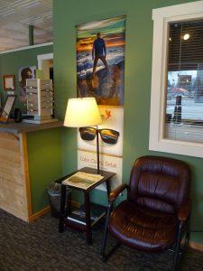 Pend Oreille Vision Care private reading corner