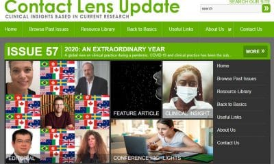 Latest Contact Lens Update Provides Global View of ECP Response During Pandemic