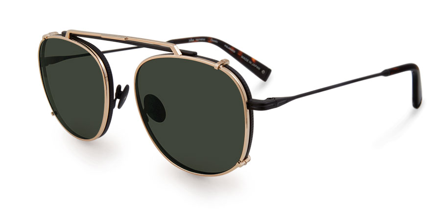 John Varvatos clip sunglasses