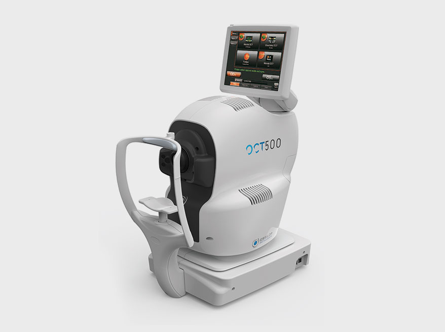 OCT500 with integrated fundus imaging