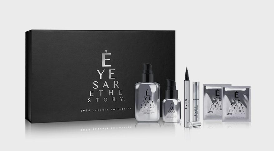 Èyes Are The Story new line of skincare and optocosmetics