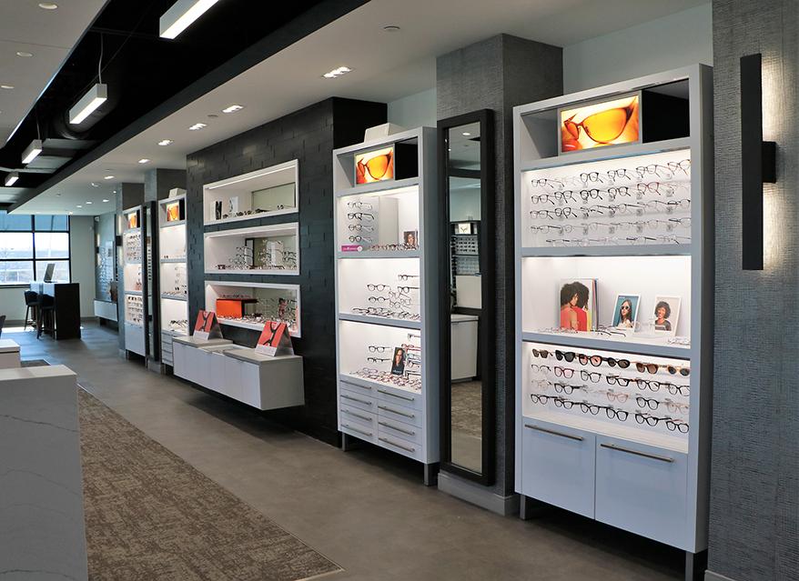 Zionsville Eyecare interior