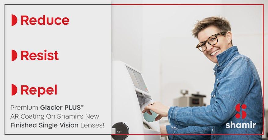 Shamir Releases New Finished Single Vision Lenses