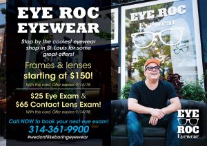Eye Roc Eyewear marketing