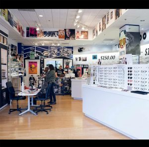 Eye Roc Eyewear interior