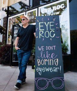 Eye Roc Eyewear marketing