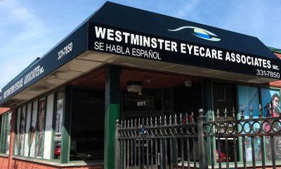 exterior of Westminster Eyecare Associates, Providence, RI