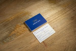 Oxford Eyes Business Card