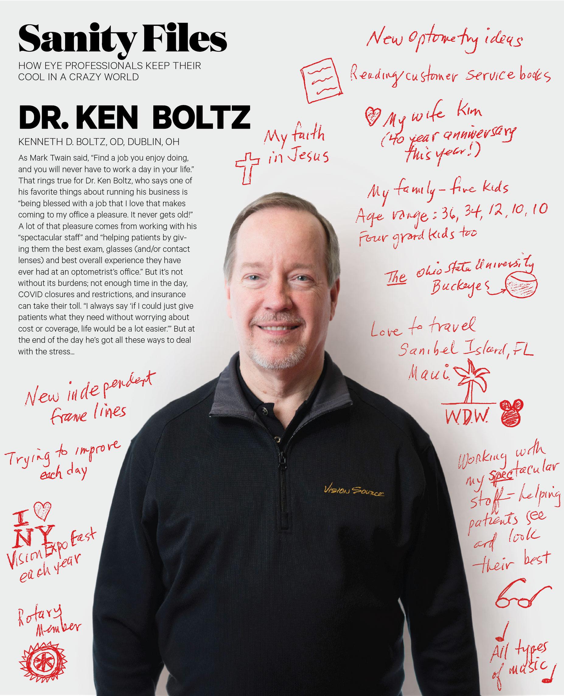 Dr. Ken Boltz