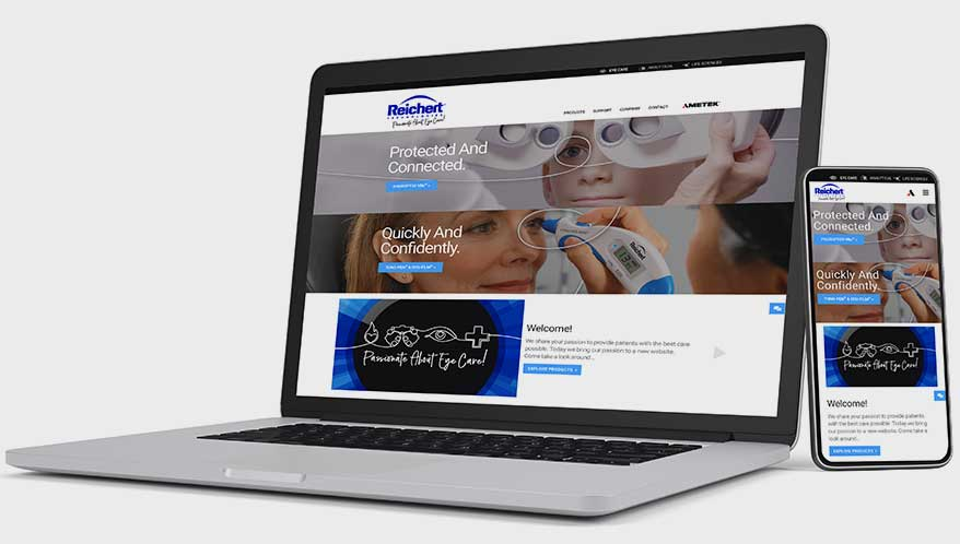 Reichert Technologies Debuts New Website That Puts Customer Experience First