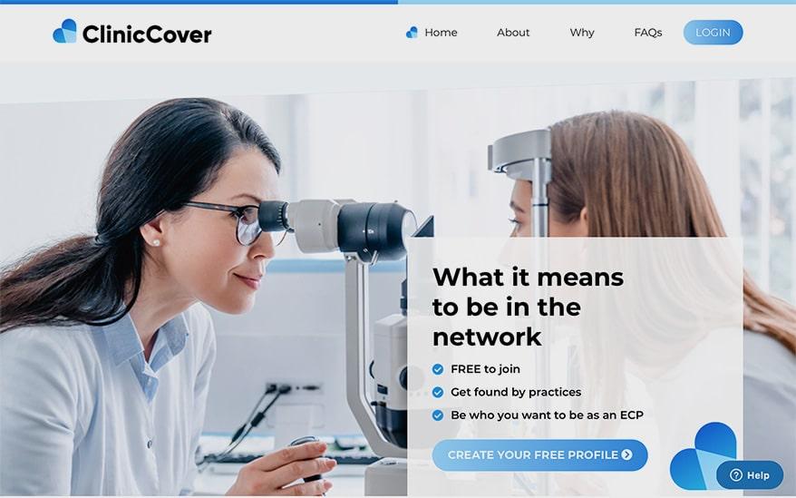 CLINICCOVER software platform