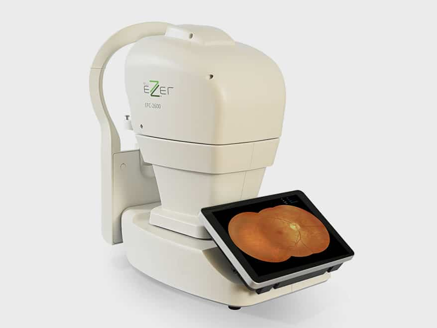EZER EFC-2600 fundus camera and operating platform from US OPHTHALMIC allow