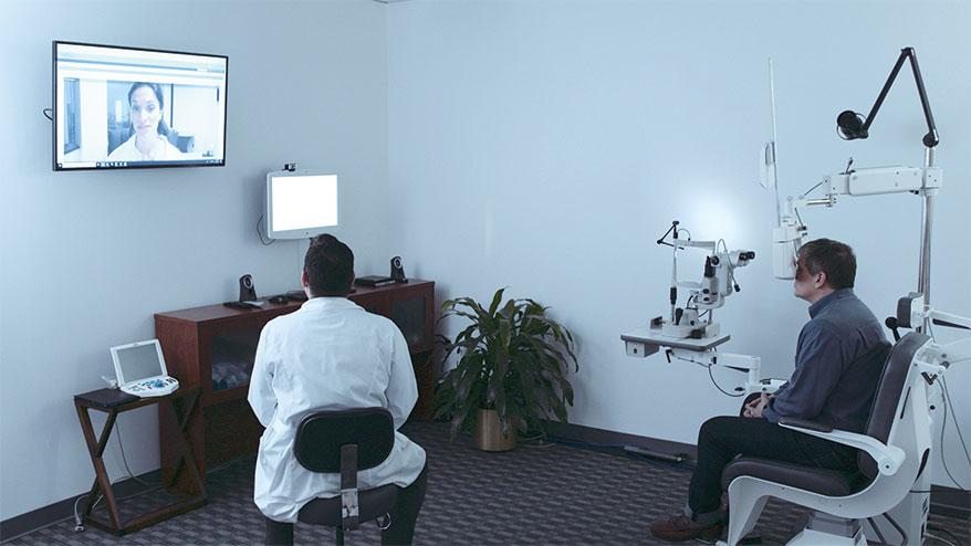 DigitalOptometrics Comprehensive in-office teleoptometry platform.