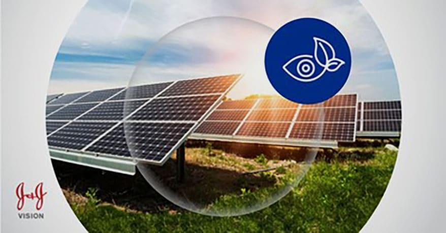 Johnson & Johnson Vision Reinforces Sustainability Commitment