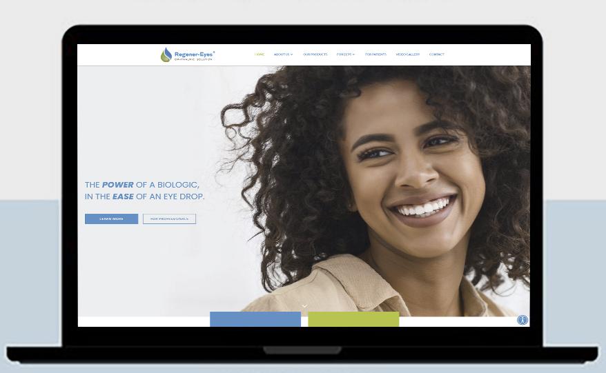 Regener-Eyes Announces New Website Domain