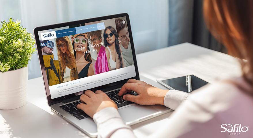 Safilo Launches New Corporate Website