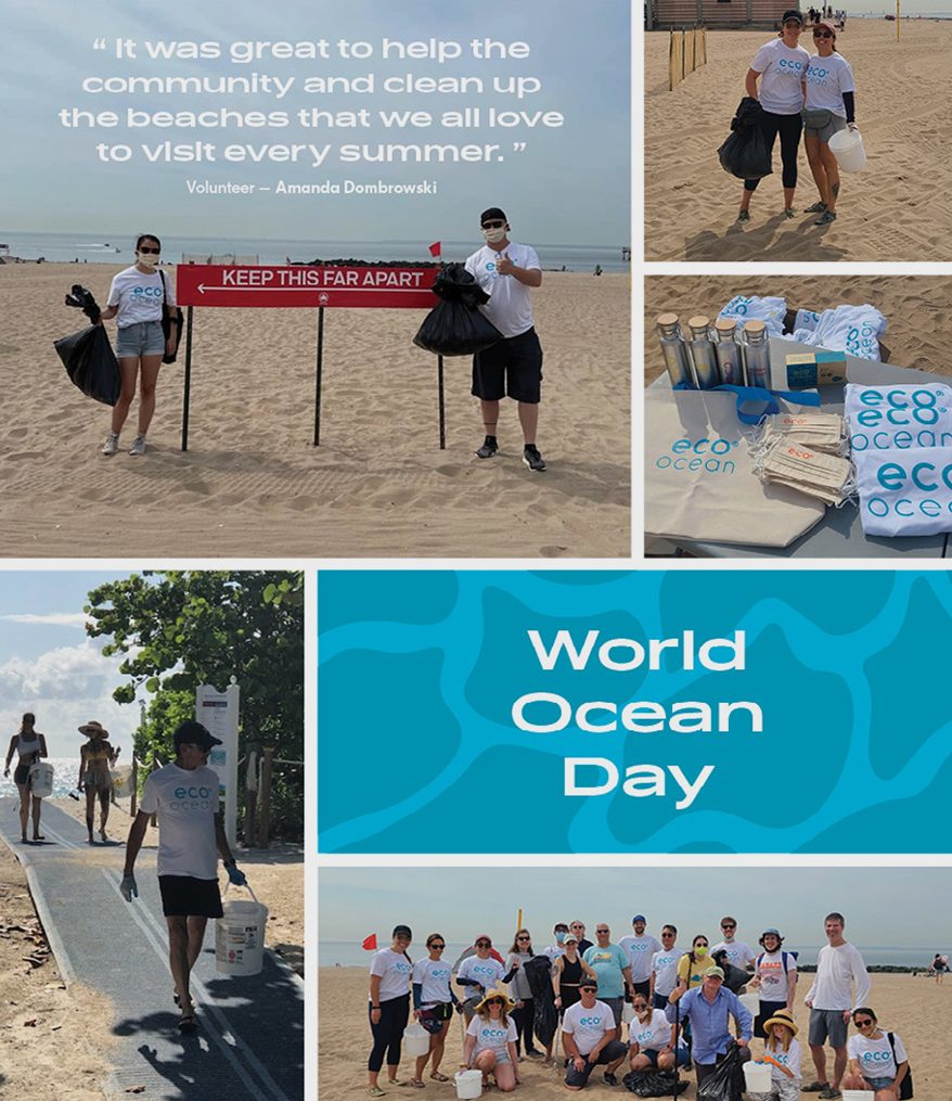 Eco Ocean Beach Clean-Up for the World Ocean Day