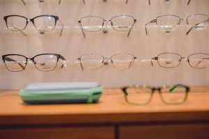 Milwaukee Eye Care eyewear display