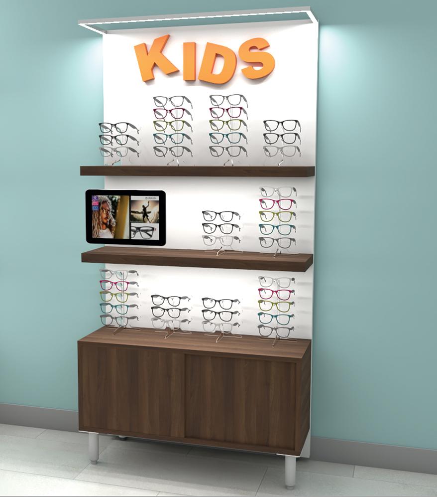 OMG! OPTICAL MARKETING GROUP newest eyewear display