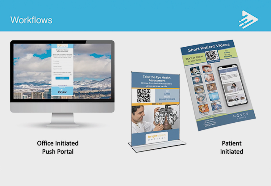 Ocular Innovations comprehensive, optometric-exclusive video content library