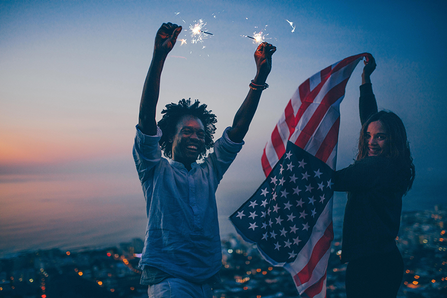 fireworks-and-US-flag