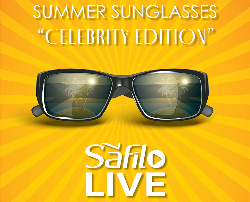 """Safilo Live  Summer Sunglasses """"Celebrity Edition"""" Virtual Product Showcase/Sales Event for Frame Buyers Hosted by Safilo USA"""