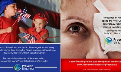 Prevent Blindness Declares June 28-July 4 as Fireworks Safety Awareness Week