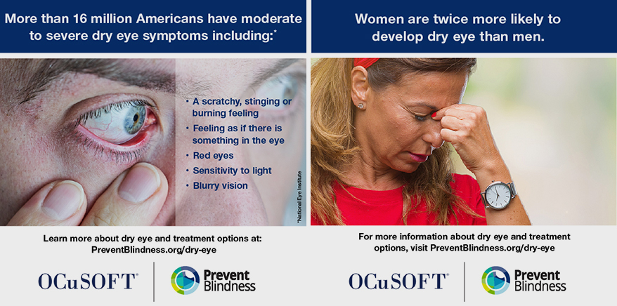 Prevent Blindness Declares July as Dry Eye Awareness Month