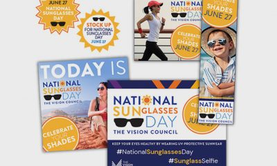 Celebrate #NationalSunglassesDay on June 27 with a #SunglassSelfie