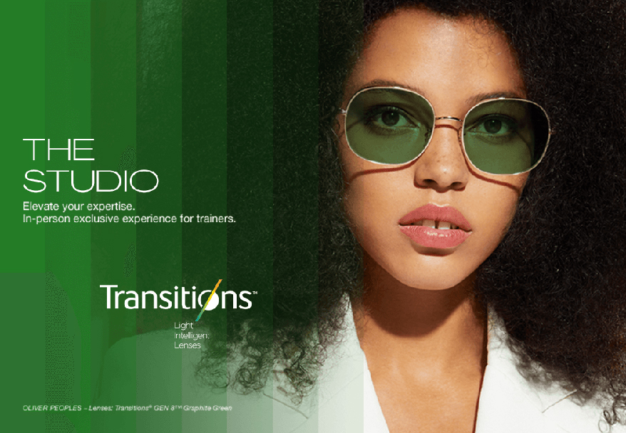 """Transitions Optical Announces """"The Studio,"""" An In-Person Exclusive Experience for Trainers and Educators"""