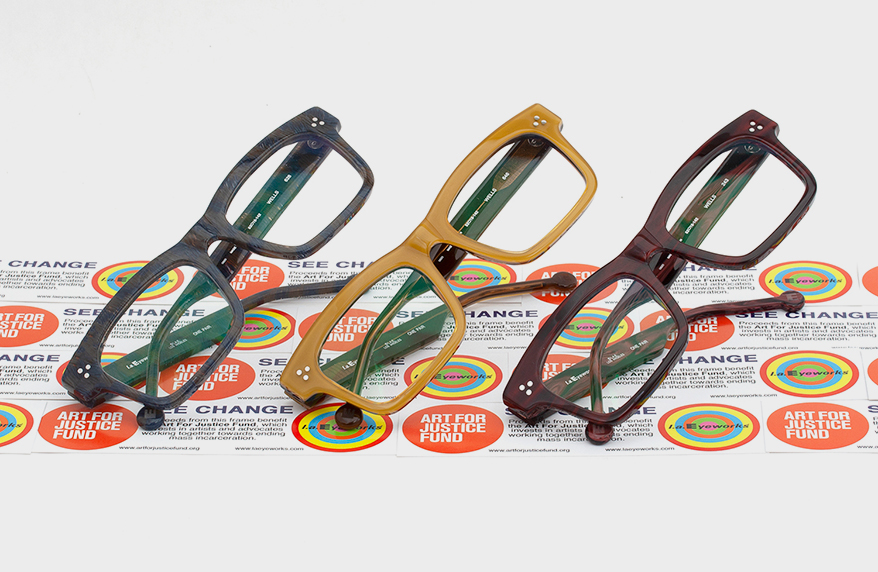 L.A.Eyeworks Donates $65K to Art for Justice Fund