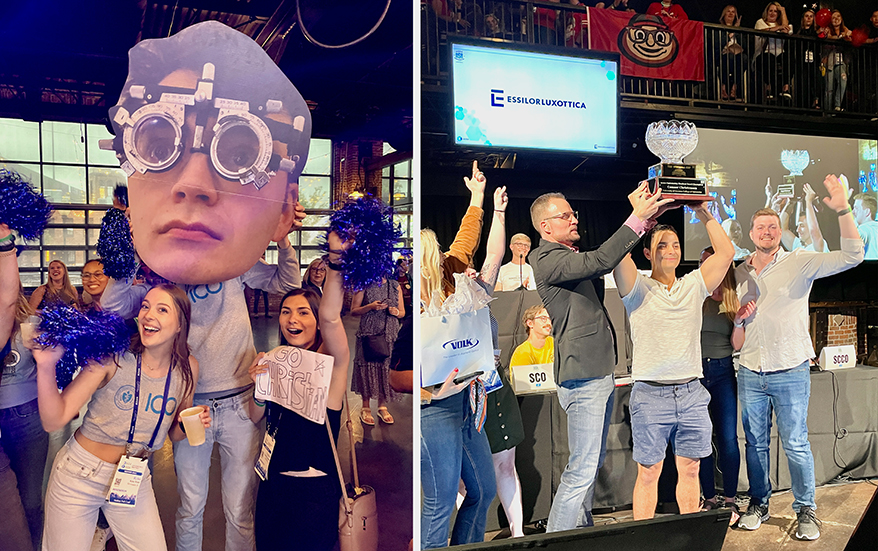 AOSA Optometry Student Bowl Powered by Essilor Draws Fierce Competition