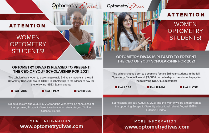 Optometry Divas Launches the CEO of YOU Scholarship