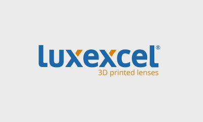 Luxexcel Launches Platform For Manufacturing of Prescription Lenses For Smartglasses