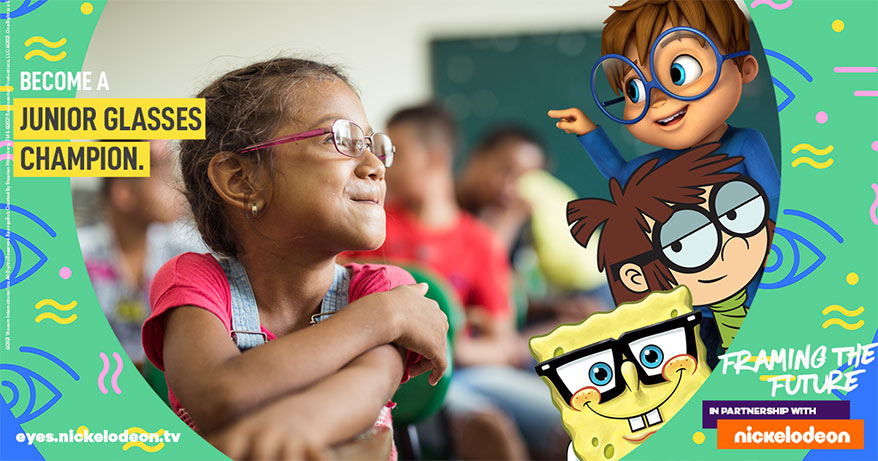 Nickelodeon and OneSight Team Up for Kids Eye Health Campaign