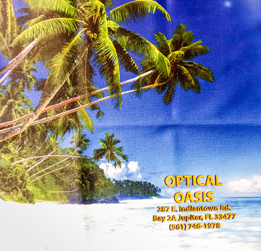 Optical Oasis cleaning cloth