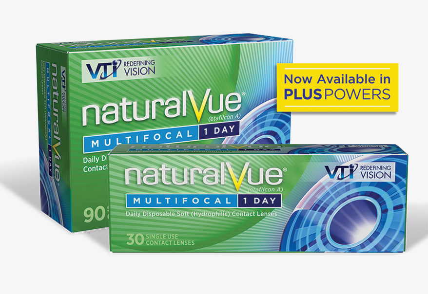 NaturalVue Multifocal 1-day lens.