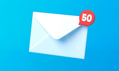 email turns 50 image concept