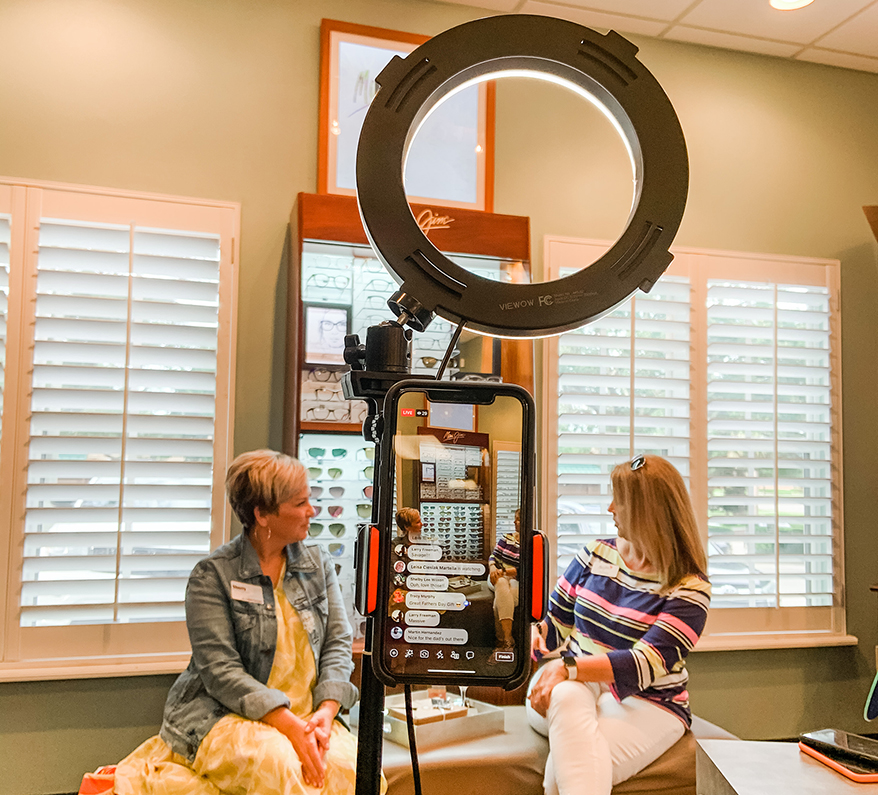 A virtual event with Maui Jim at Logan Eyecare.