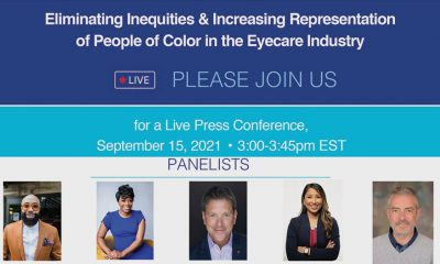 Black Eye Care Perspective, New England College of Optometry and Johnson & Johnson Vision  Announces Virtual Press Conference
