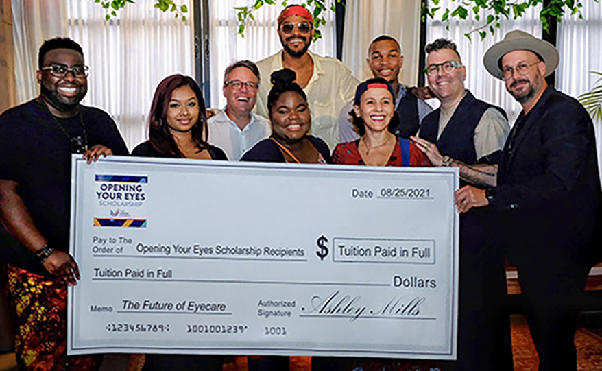 Maxwell Hosts Recipients of Opening Your Eyes: The Vision Council Scholarship Fund During Event in New York City