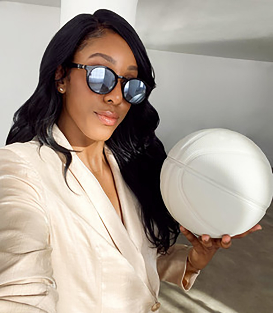 """""""Monique brings clear star power and a positive image that transcends across sports and fashion."""""""