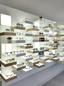 Spectrum-Eye-Care-eyewear display