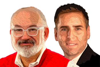 Alan Cleinman, left, and Dr. Steve Vargo
