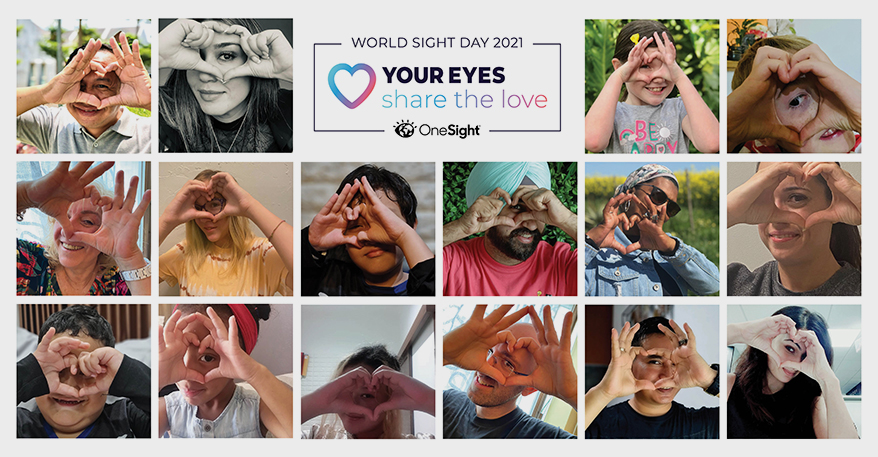 #LoveYourEyes Vision Campaign Launches Global Landmark Event to Celebrate World Sight Day